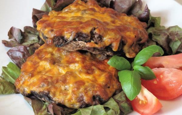 Portobellos farcis 3 ingrédients : rapide et végétarien