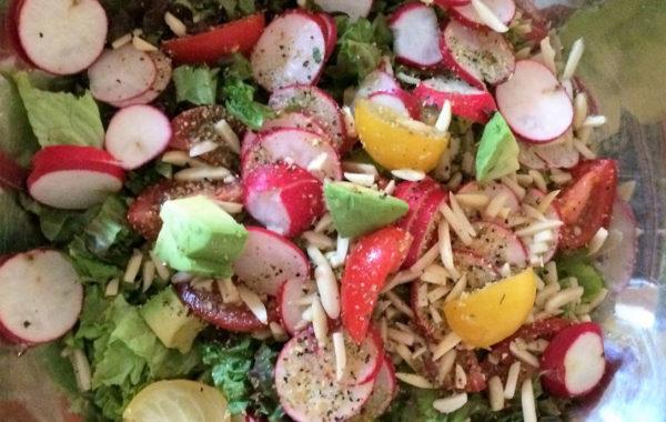 Salade verte en toute simplicité pour les gens pressé !